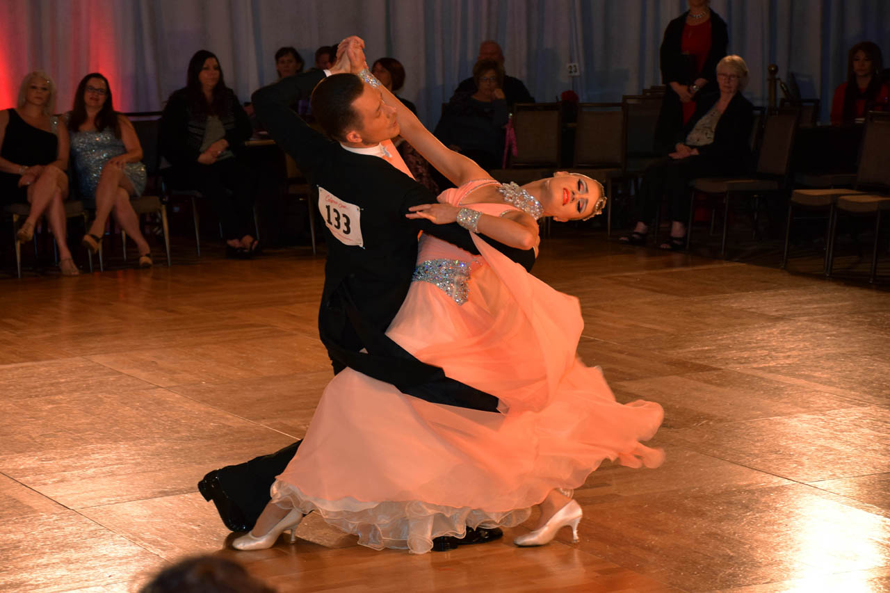 1st Place Open Professional Ballroom:<br>Mikhail Avdeev &amp; Olga Blinova