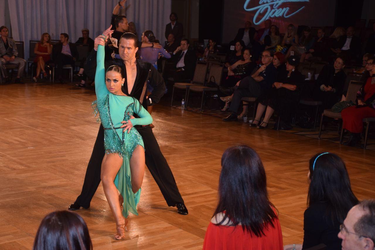 1st Place Open Professional Latin:<br>Andrey Tarasov &amp; Yulia Kuznetsova