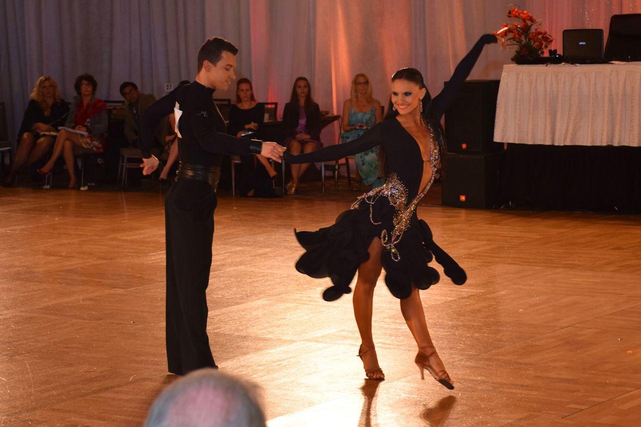 1st Place Rising Star Latin:<br>Mykhailo Bilopukhov &amp; Anastasiia Shchypilina